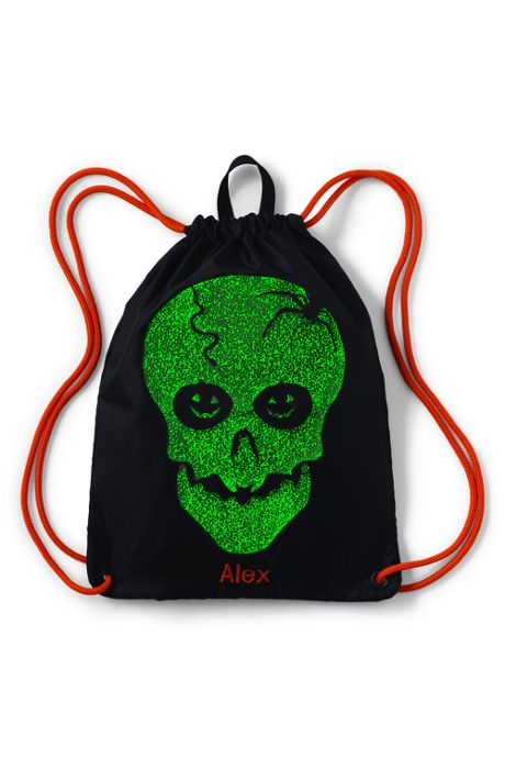 Halloween Glow-In-The-Dark Cinch Sack