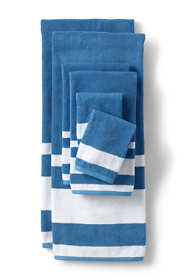 Supima Cotton Stripe Washcloth