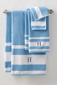 Supima Stripe Hand Towel