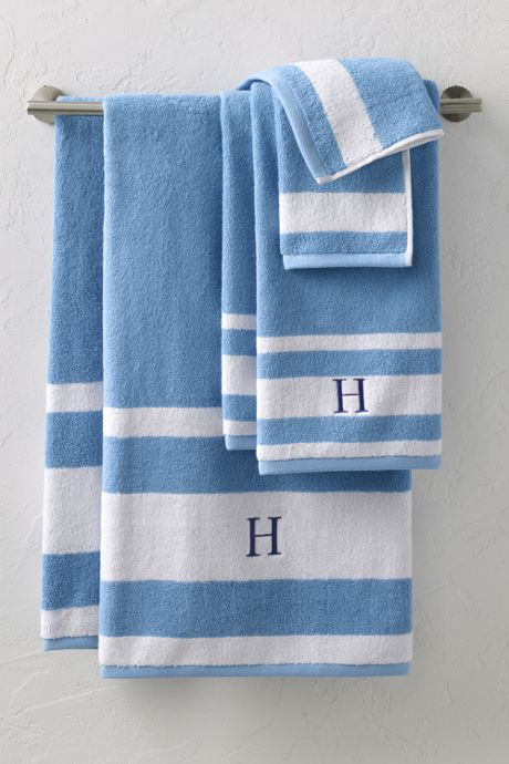 Supima Cotton Stripe Towel Set