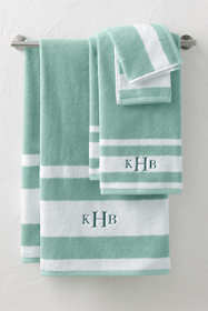 Supima Stripe Towel Set