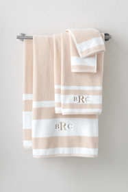 Supima Cotton Stripe Bath Towel