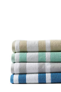 Supima Cotton Stripe Bath Towel, Unknown