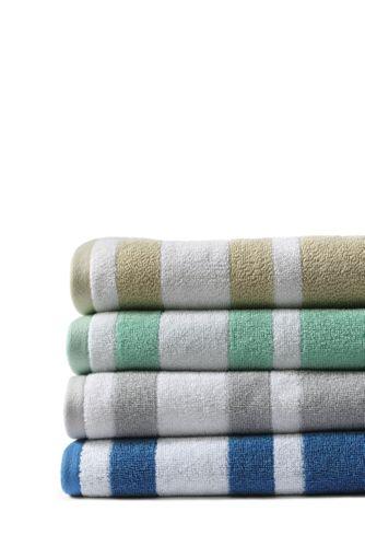 Supima Cotton Stripe Bath Towel