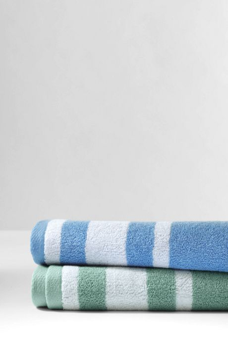 Supima Stripe Washcloth