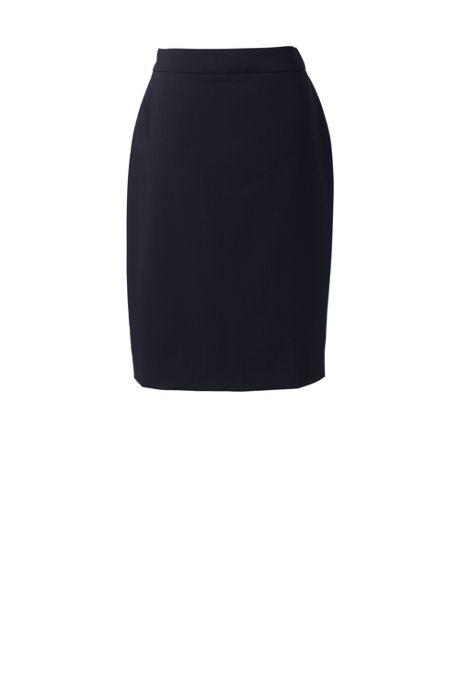Women's Washable Wool Straight Skirt