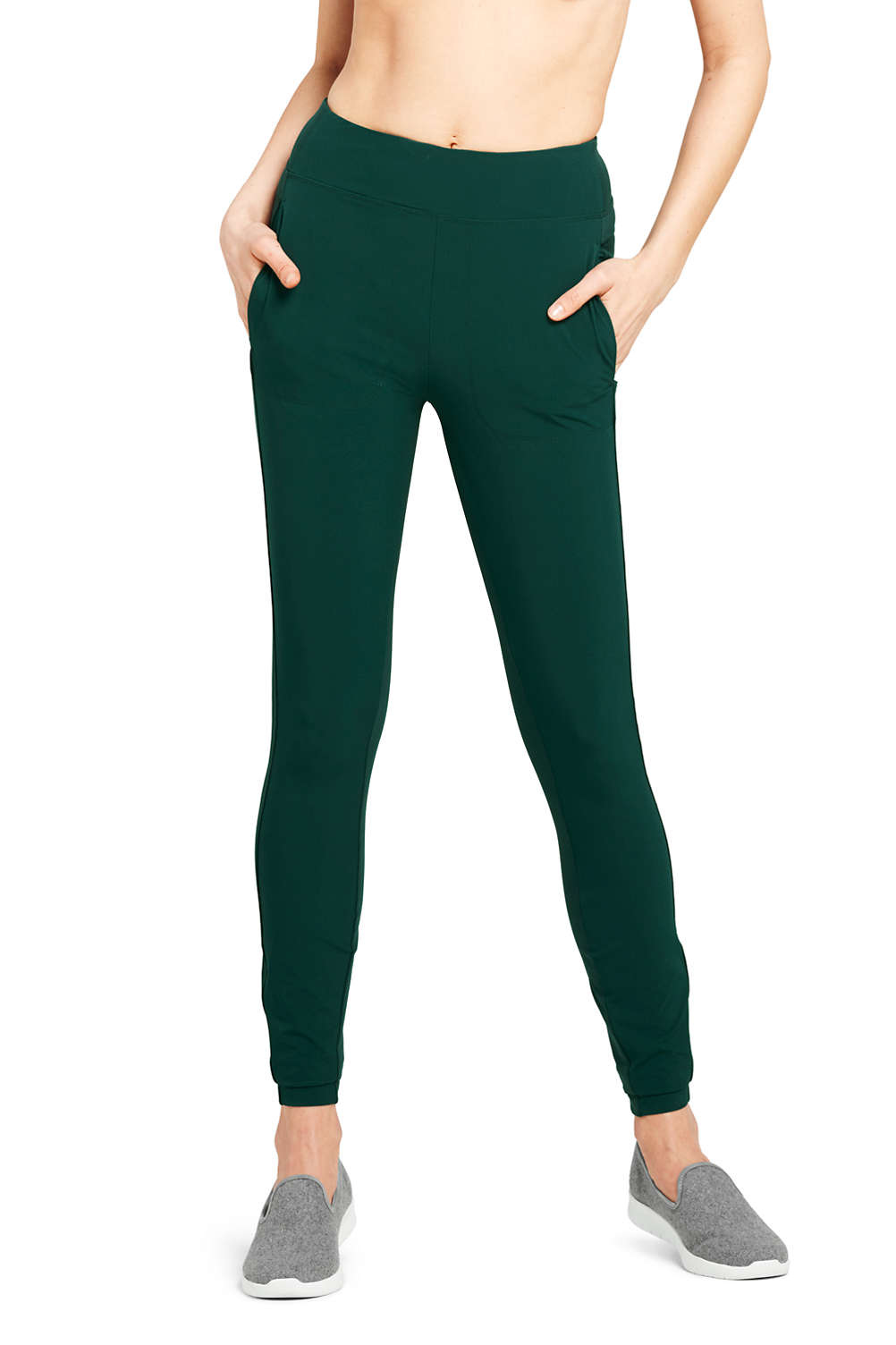 b50cf888a4 Women's Active Hybrid Leggings from Lands' End