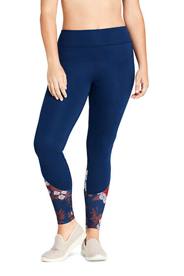 abcb499c5ed3b Women's Plus Size Active High Waisted Yoga Leggings 2 from Lands' End