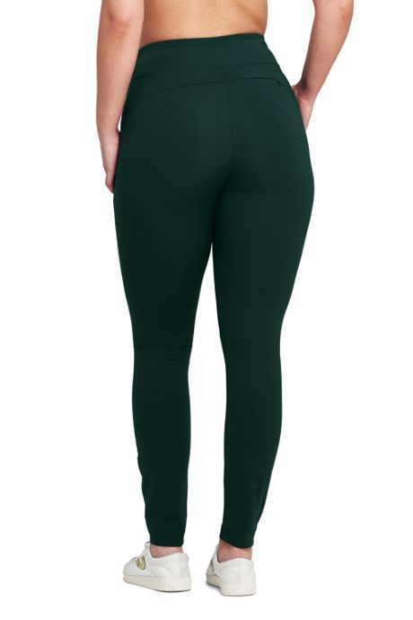 Women's Plus Size Active Hybrid Leggings