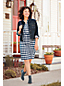 Women's Patterned Tuxedo Bib Dress