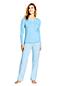 L'Ensemble Pyjama Imprimé en Jersey Stretch, Femme Stature Standard