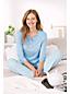 L'Ensemble Pyjama Rayé en Jersey Stretch, Femme Stature Standard