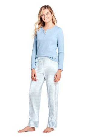 42252fd90 Women's Striped Cotton Modal Pyjama Set | Lands' End