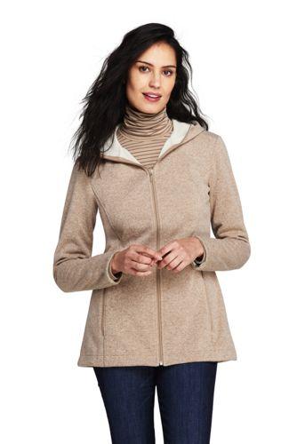 Le Manteau en Polaire Résistant à l'Eau, Femme Stature Standard
