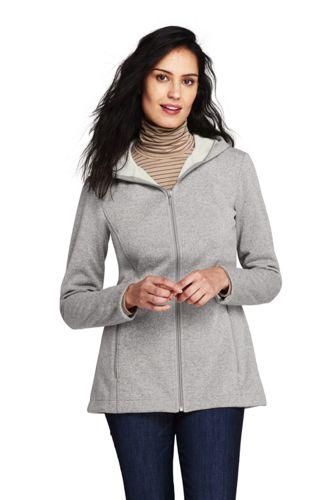 6474bf1043c97 Women's Water Resistant Fleece Coat | Lands' End