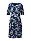 La Robe Fourreau à Motifs en Jersey Ponte, Femme Stature Standard