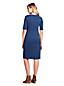 Women's Shift Dress in Patterned Ponte Jersey