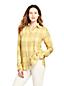 Gemusterte Bluse aus gebürstetem Viskosemix für Damen