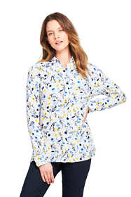 Women's Tall Brushed Rayon Collared Shirt