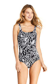 Women's DDD-Cup Tugless One Piece Swimsuit Soft Cup Print