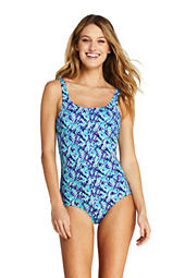 af8e1b0bd33 Women s Tugless One Piece Swimsuit from Lands  End