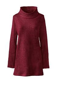 Women's Petite Active Fleece Pullover Tunic