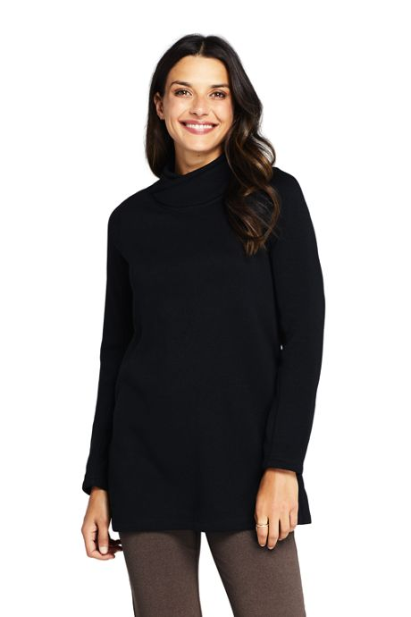Women's Sweater Fleece Tunic Pullover Top