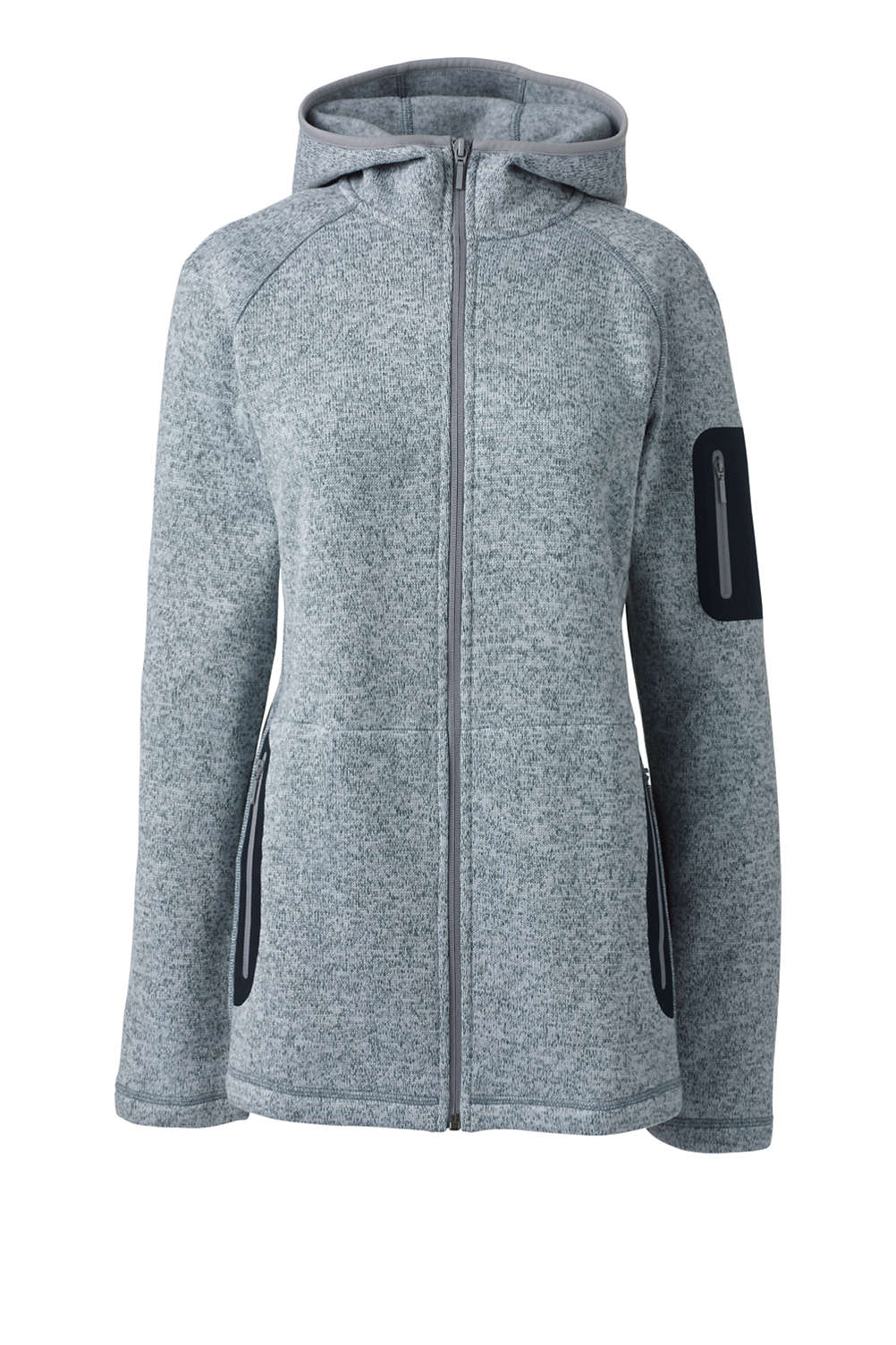 e3e94a2ad Women s Active Sweater Fleece Hooded Jacket from Lands  End