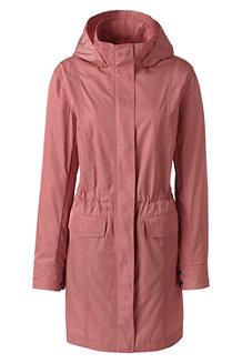 Women's  Packable Lightweight Raincoat