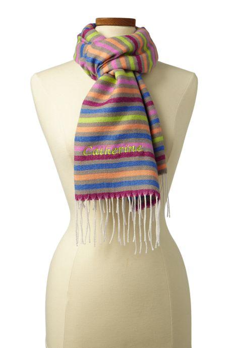 Women's LuxeTouch Stripe Scarf