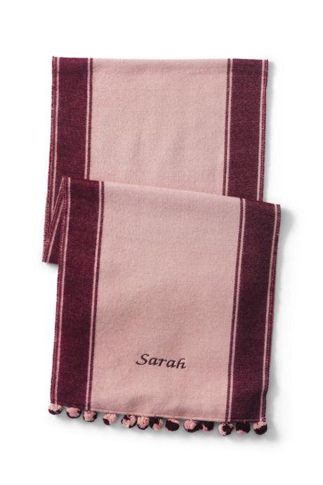 Women's LuxeTouch Varsity Stripe Scarf