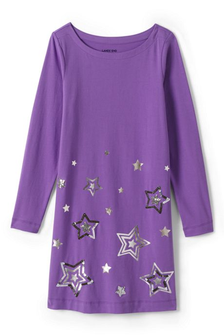 Girls Plus Size T-Shirt Dress
