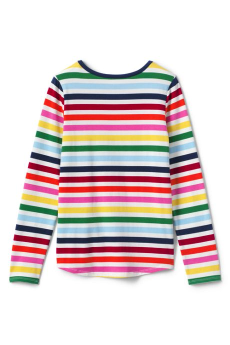 Little Girls Pattern Core Tee