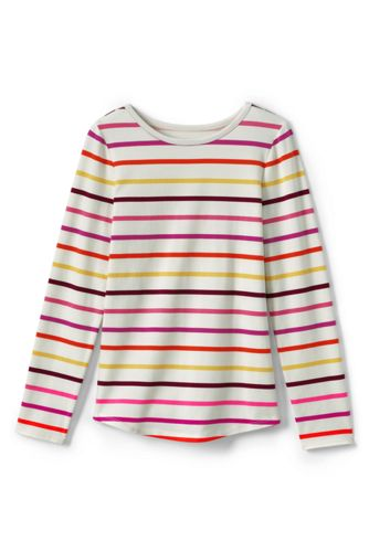 Toddler Girls' Long Sleeve Patterned T-shirt