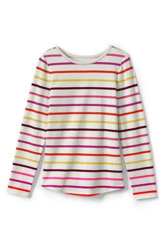 Le T-Shirt en Jersey Stretch à Motifs, Toute Petite Fille