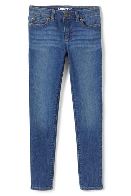 Girls Slim Iron Knee Skinny Jean