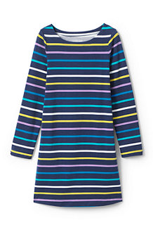 Girls' Patterned T-shirt Dress