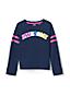 Le Sweatshirt Graphique à Manches Longues, Fille