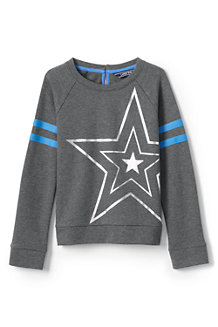 Girls' Graphic Sweatshirt