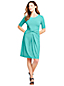 Women's Jersey Dress With Twist Front