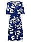 La Robe Stretch Drapé Twisté à Motifs, Femme Stature Standard
