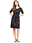 Women's Print Jersey Dress With Twist Front