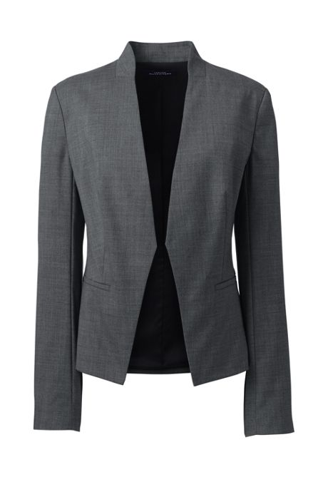 Women's Year'rounder Collarless Blazer