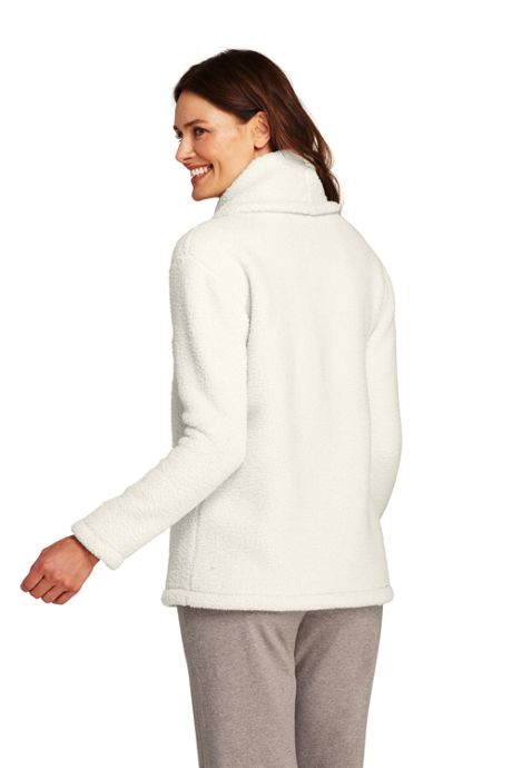 Women's Tall Cozy Sherpa Fleece Pullover Top