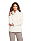Women's Soft Sherpa Fleece Cowl Neck Jumper