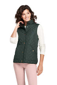 Women's Petite Quilted Barn Insulated Vest