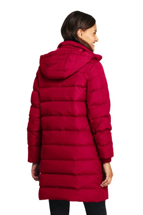 Women's Tall Winter Long Down Coat