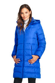 Women's Petite Winter Long Down Coat
