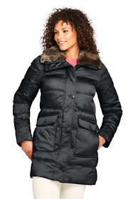 Women's Plus Size Insulated Winter Puffer Parka