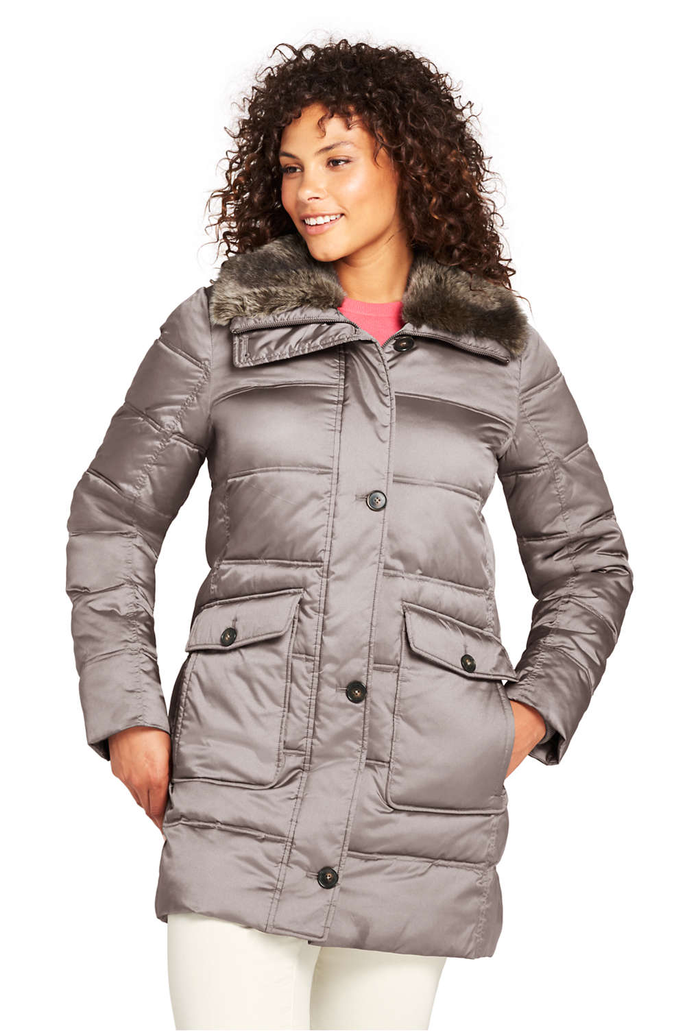 20c5adbaae Women s Plus Size Insulated Winter Puffer Parka from Lands  End